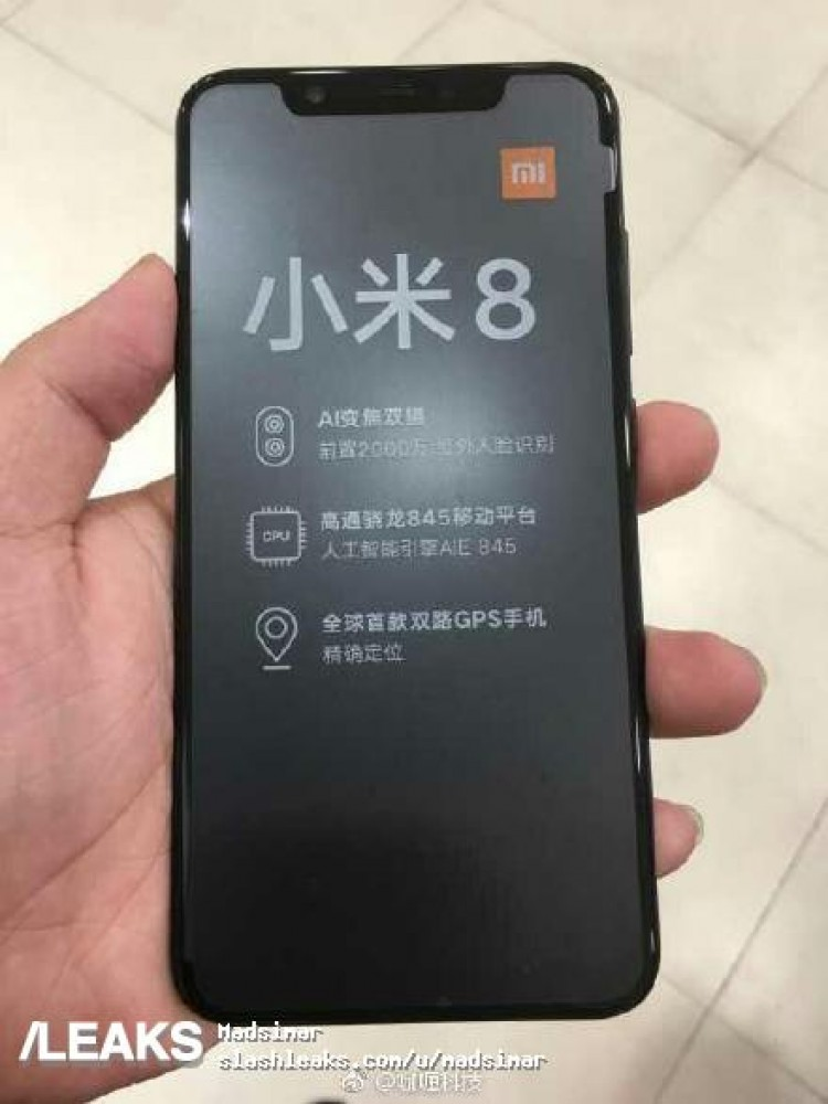Ещё один клон iPhone X — Xiaomi Mi 8