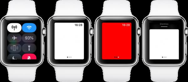 Как включить и настроить фонарик на Apple Watch