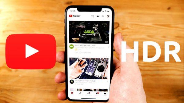 YouTube на iPhone X теперь поддерживает HDR-видео