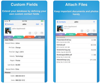 Что в моем iPhone: Contacts Journal CRM —  система управления контактами