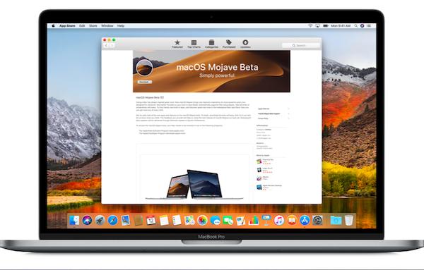 Apple выпустила публичную бета-версию macOS Mojave