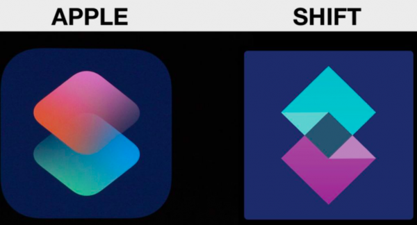 Кража логотипа для Siri Shortcuts обойдется Apple в 200 000 долларов