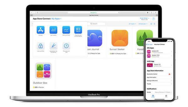 Apple выпустила приложение App Store Connect в помощь разработчикам