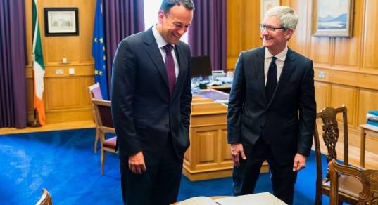 Тим Кук: «Apple пришла в Ирландию развивать бизнес, а не уклоняться от налогов»