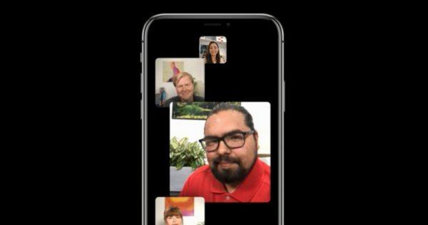 Как работают групповые звонки FaceTime в iOS 12
