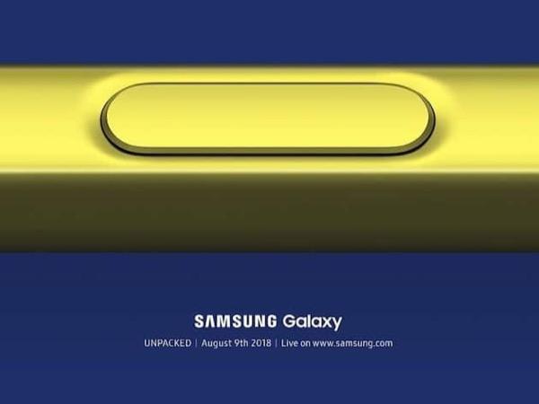 Samsung подтвердила дату анонса Samsung Galaxy Note 9