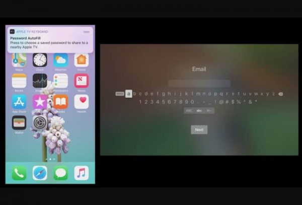 tvOS 12 сильно упрощает ввод паролей на Apple TV