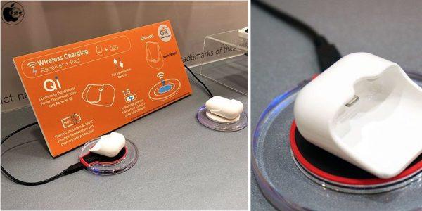 Apple опоздала: тайваньская компания показала адаптер для беспроводной зарядки AirPods