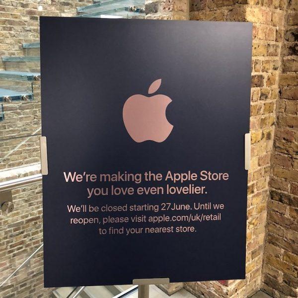 Apple закрывает магазины по всему миру. Для реновации