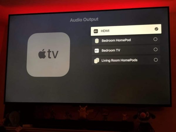 tvOS 12 Beta 2 позволяет выбрать HomePod в качестве основного источника звука