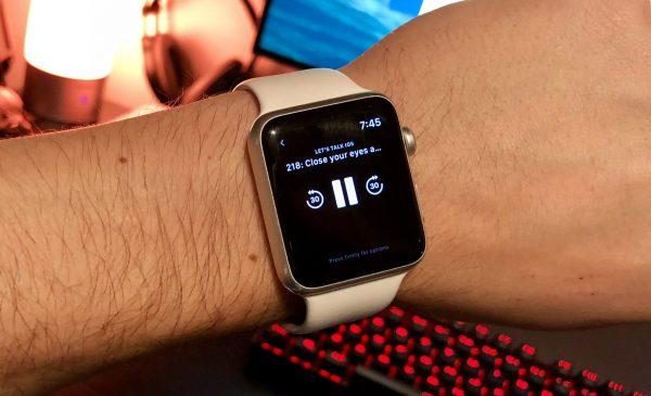 Приложения для прослушивания подкастов будут работать с ограничениями на Apple Watch