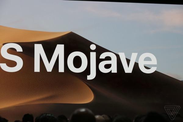 Apple представила macOS 10.14 Mojave
