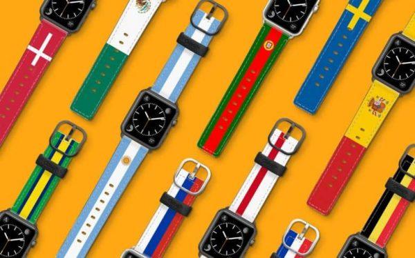 Коллекция ремешков для Apple Watch к Чемпионату Мира