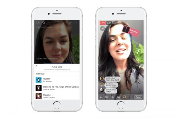 Facebook скопировала синхронизацию движения губ с песнями у сервиса Musical.ly