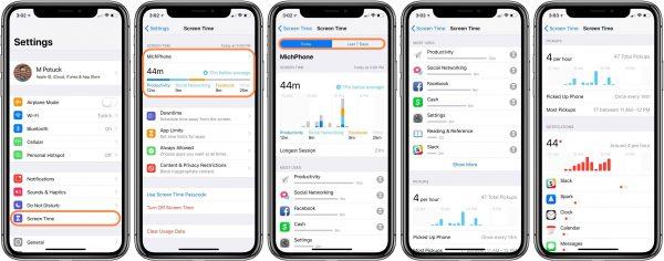 Как пользоваться Screen Time в iOS 12