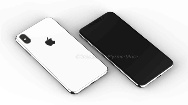 В сети появился рендер 6.5-дюймового iPhone X Plus