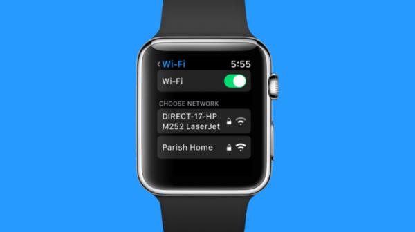 В watchOS 5 можно подключать Wi-Fi вручную