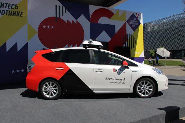 Беспилотный автомобиль «Яндекса» за один день проехал 780 километров