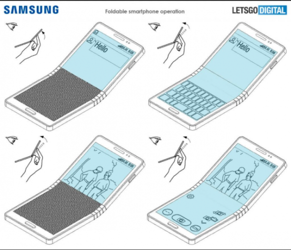 Стало известно, как будет работать гнущийся Samsung Galaxy X