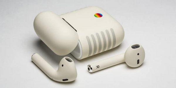 Появились AirPods Retro в стиле классического Macintosh