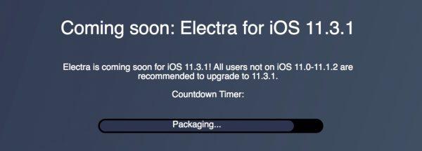 Джейлбрейк iOS 11.3.1 появится в ближайшие дни