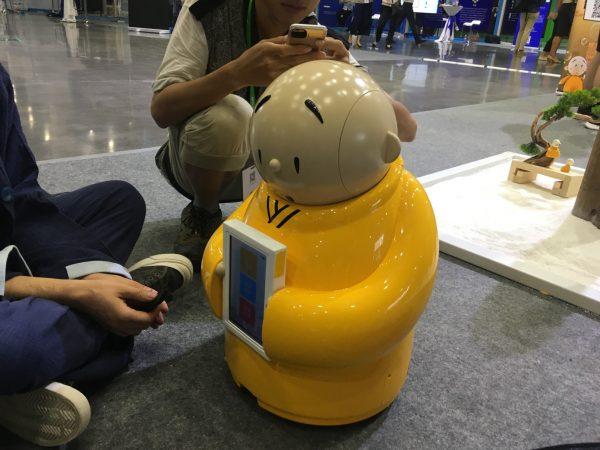 В буддийском храме создали робота-монаха