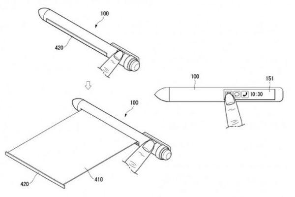 LG запатентовала ручку, которая может заменить смартфон