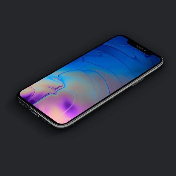 Обои в стиле MacBook Pro 2018 стали доступны для iPhone