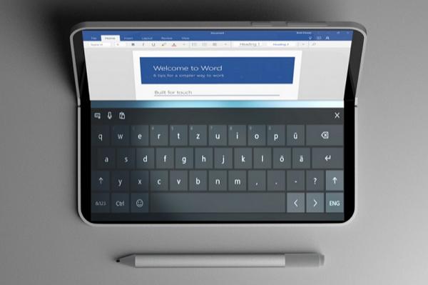 Пользователь твиттера опубликовал новые рендеры Surface Phone с двумя экранами