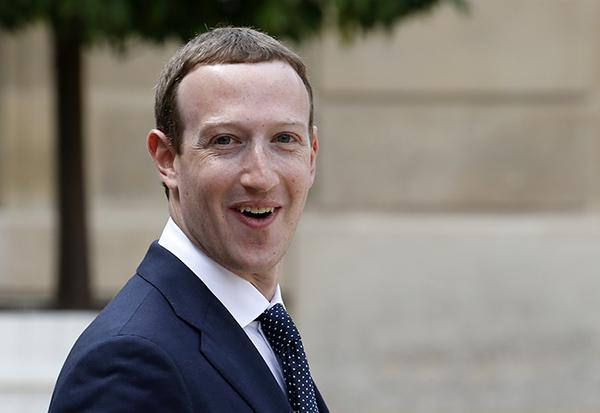 Марк Цукербегр — третий богатейший человек на планете