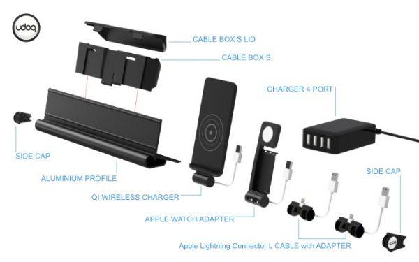udoq — действительно удобная док-станция для гаджетов Apple