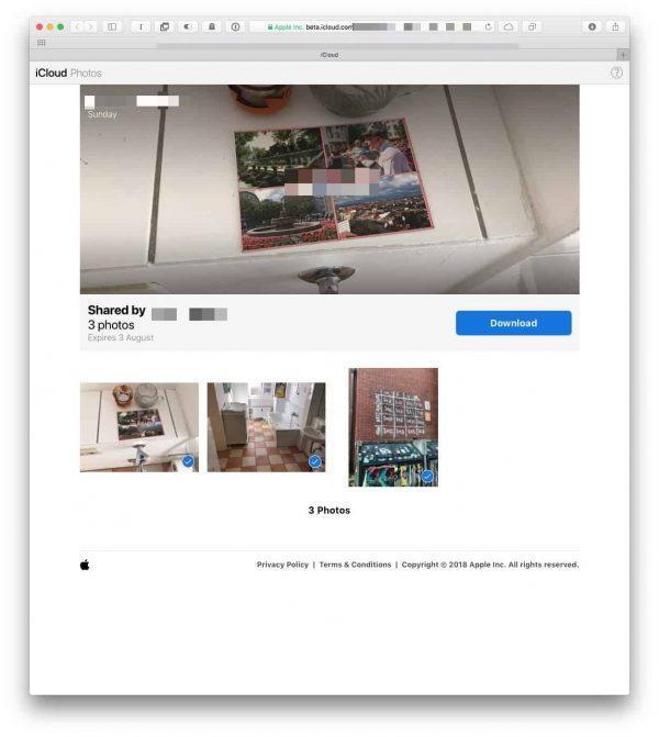 Как обмениваться ссылками на снимки в «Фото» на iOS 12