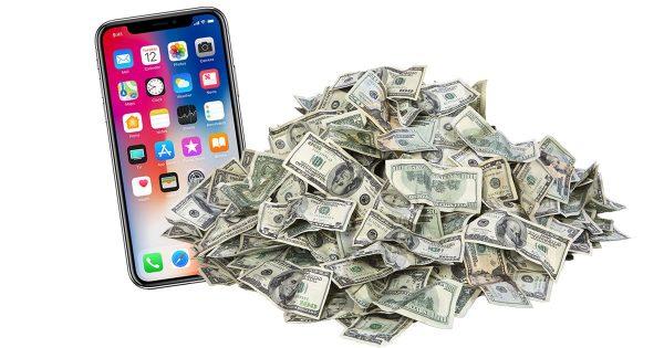 Подержанные iPhone X почти не теряют в цене