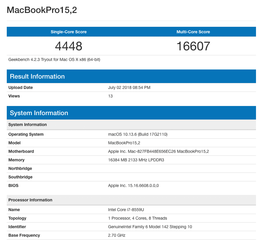 В сети засветился MacBook Pro нового поколения