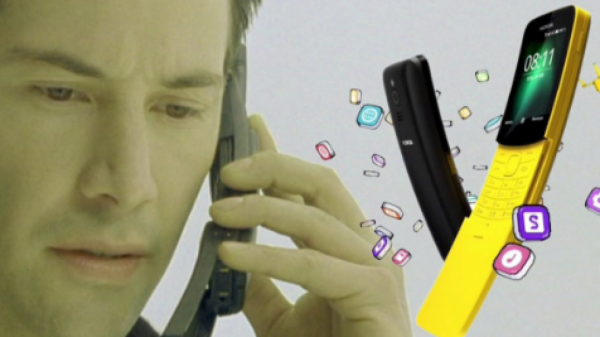 Nokia 8110 начнет продаваться в России