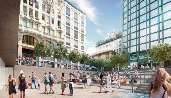 Apple откроет в Милане новый магазин, объединённый с амфитеатром