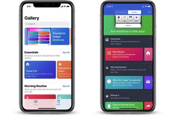 Apple представила бета-версию Siri Shortcuts