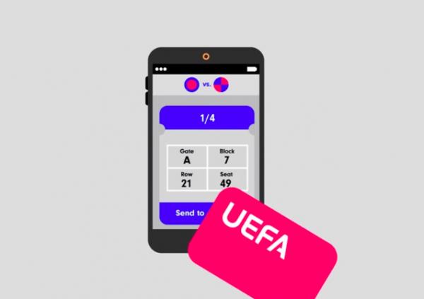 Билеты на матчи УЕФА можно купить через блокчейн