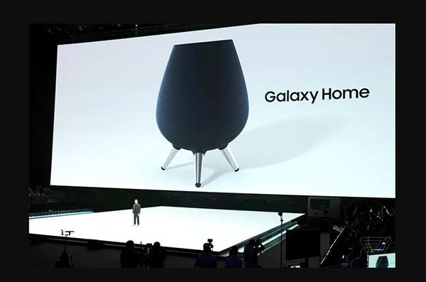 Знакомьтесь: Galaxy Home – «умная» колонка от Samsung