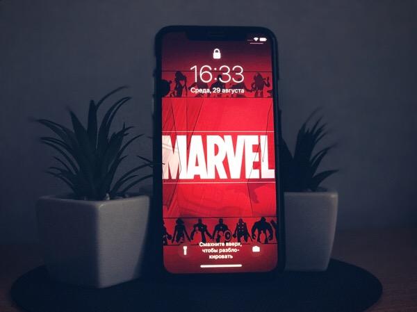 Лучшие обои Marvel для iPhone
