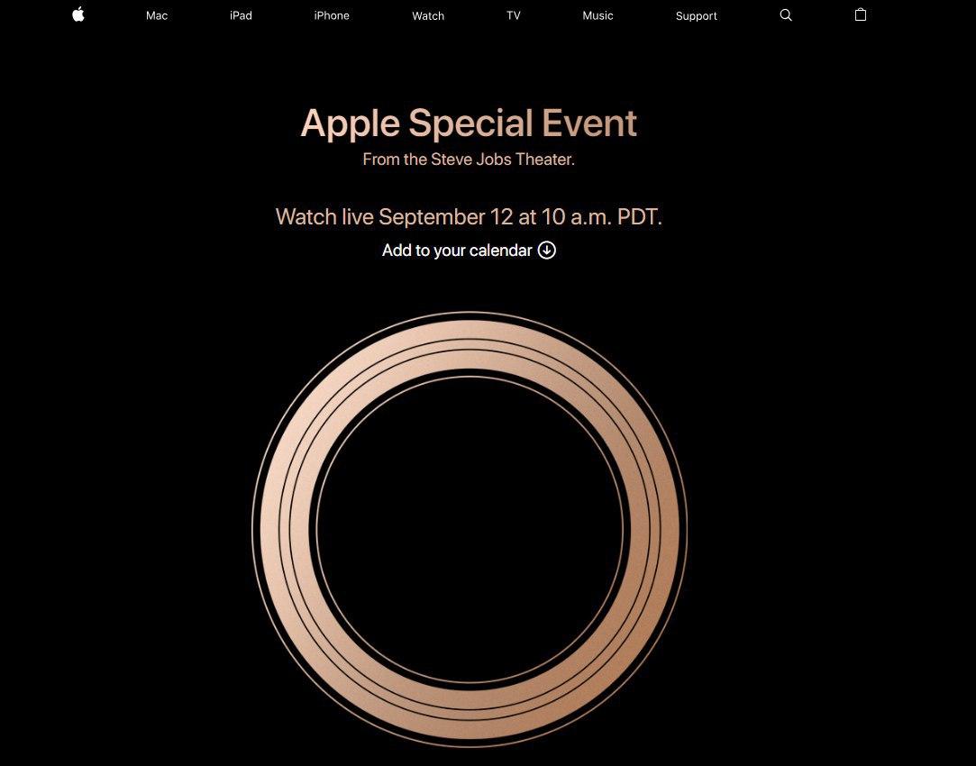 Apple приглашает на презентацию новых iPhone