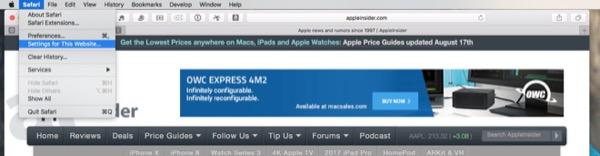 macOS в деталях: Safari