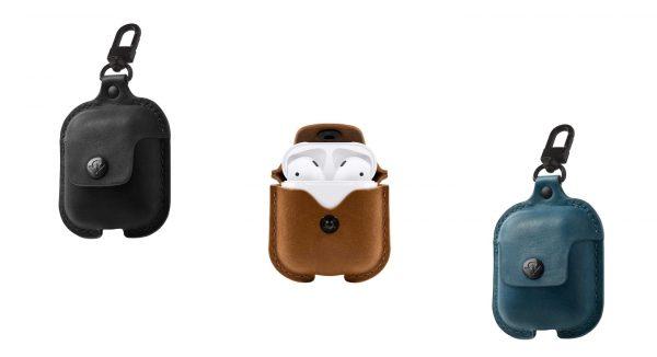 AirSnap — стильный кожаный чехол для AirPods