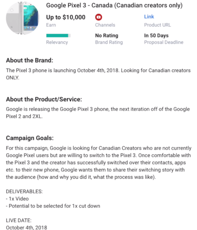 Google случайно сообщила дату релиза Pixel 3 и Pixel 3 XL