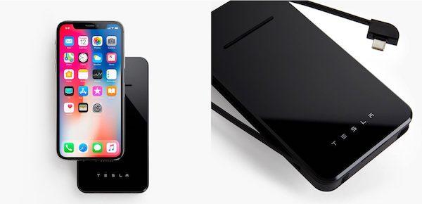 Tesla показала беспроводную зарядку для iPhone