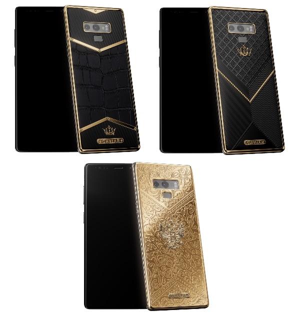 57 тысяч долларов за Note 9 – цена мечты от Caviar