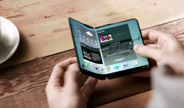 Гнущийся смартфон от Samsung может выйти на рынок до конца 2018 года