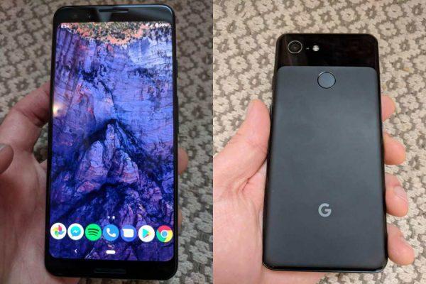 Появились первые фотографии Google Pixel 3 без челки