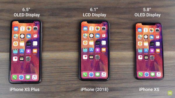 Все iPhone 2018 показали на видео