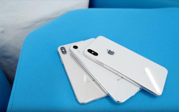 Три новых iPhone показали на видео
